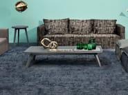 Low rectangular coffee table GRAY 56 - Gervasoni