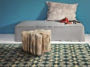 Wooden pouf / coffee table BRICK XL - Gervasoni