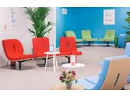 Upholstered easy chair TYPOGRAPHIA K - TABISSO