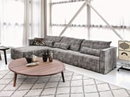 3 seater sofa with removable cover BRICK 21 - Gervasoni