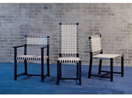 Chair with armrests OTTO 124 - Gervasoni