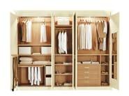 Solid wood wardrobe RICHMOND | Wardrobe - Minacciolo