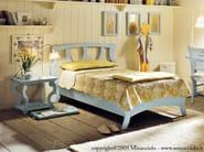Wooden single bed BRISTOL   Single bed - Minacciolo