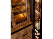 Inlaid wood bar cabinet for cigars CIGAR TOWER - TONCELLI CUCINE