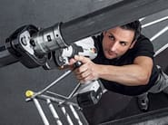 Pipe fixing system and collar PRESSGUN 5 - Viega Italia