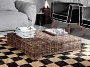 Low square coffee table CROCO 10 - Gervasoni