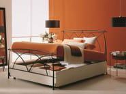 Iron double bed MANON | Storage bed - Bontempi Casa