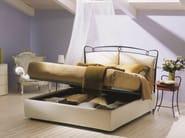 Iron double bed VERSILIA | Storage bed - Bontempi Casa