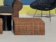 Low Square garden side table CROCO 14 - Gervasoni