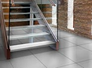 Anti-slip glass flooring COMPLEMENTI | Anti-slip flooring - Brecci by Eidos Glass