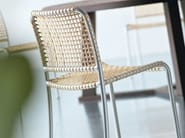 Stackable chair ALLU 23 I - Gervasoni