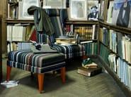 Fabric wingchair with headrest ONDA 08/108/18/118 - Very Wood
