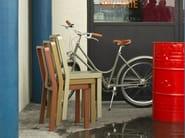 Wooden restaurant chair RIO - Very Wood