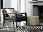Upholstered armchair with armrests CAMILLA - Poliform