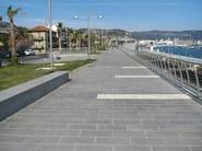 Granite outdoor floor tiles DIORITE - GRANULATI ZANDOBBIO