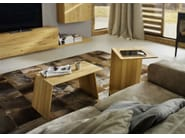 Solid wood coffee table SIDEKICK - TEAM 7 Natürlich Wohnen