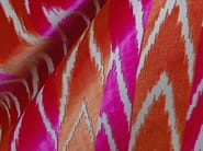 Jacquard velvet fabric with graphic pattern COUP DE FOUDRE - Dedar