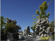 Natural stone Cascade Fountain ZEBRA PREMIUM - GRANULATI ZANDOBBIO