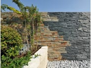 Outdoor slate wall tiles ARDESIA MULTICOLOR | Wall tiles - GRANULATI ZANDOBBIO