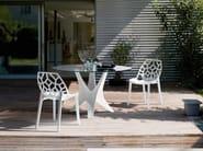 Polycarbonate chair SPIDER - Bontempi Casa