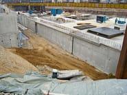 Cement-based waterproofing system RASCOR® WHITE TANK - Rascor & Partners Italia