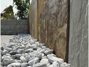 Modular natural stone Fence Natural stone Fence - GRANULATI ZANDOBBIO