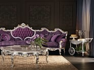 Luxury classic interiors design upholstered and padded couch - Villa Venezia Collection - Modenese Gastone