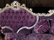 Luxury classical interiors design upholstered and padded couch - Villa Venezia collection - Modenese Gastone