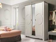 Mirrored wooden wardrobe DEMOISELLE | Mirrored wardrobe - GAUTIER FRANCE