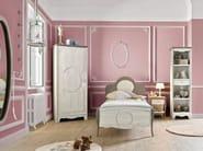Wooden wardrobe with 1 door for kids' bedrooms DEMOISELLE | Wardrobe with 1 door - GAUTIER FRANCE