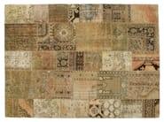Vintage style patchwork rug PATCHWORK BEIGE - Golran