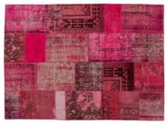 Tappeto fatto a mano patchwork patchwork pink by golran - Tappeti turchi vintage ...