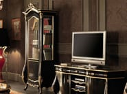 Display cabinet carved laquered gold leaf - Villa Venezia Collection - Modenese Gastone