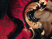 Sofa soft velvet carves polish Venetian classic design - Villa Venezia Collection - Modenese Gastone