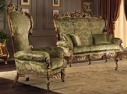 Classical living room furnishings padded armchair - Villa Venezia Collection - Modenese Gastone