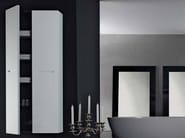 Tall suspended bathroom cabinet ZERO | Tall bathroom cabinet - RIFRA