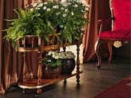 Flower box handmade in walnut with Italian passion - Villa Venezia collection - Modenese Gastone