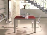 Rectangular crystal table AXEL - Bontempi Casa