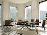 Extending rectangular table ARTISTICO | Wooden table - Bontempi Casa