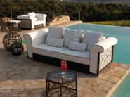 3 seater garden sofa SPIDER | 3 seater sofa - Talenti
