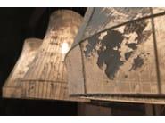 Fabric floor lamp ATELIER | Floor lamp - Karman
