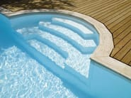 Swimming pool stairs DESJOYAUX R276 - Desjoyaux Piscine Italia
