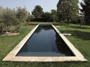 Rectangular stairs for swimming pools DESJOYAUX | Rectangular stairs for pools - Desjoyaux Piscine Italia