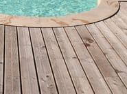 Wooden decking DESIGN DESJOYAUX | Decking - Desjoyaux Piscine Italia