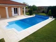 Sliding Swimming pool cover DESJOYAUX | Swimming pool cover - Desjoyaux Piscine Italia