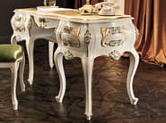 Writing desk with carved inlays and floral pattern - Villa Venezia Collection - Modenese Gastone