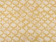 Cotton fabric with graphic pattern MONTSERRAT - KOHRO
