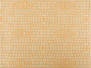 Cotton fabric with graphic pattern GRENADINES - KOHRO
