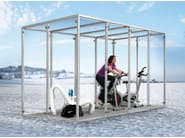 Glass gazebo CUBE - CAGIS