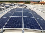 Photovoltaic module for precast reinforced concrete roof b.POWER - Baraclit Prefabbricati